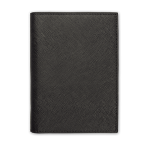 Black - Saffiano Passport Cover | Personalise | TheImprint Singapore