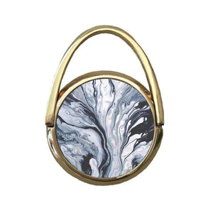 Grey Splatter Marble | Mobile Phone Ring | TheImprint Singapore