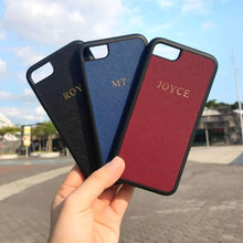 Navy - Samsung S10 Plus Saffiano Phone Case | Personalise | TheImprint Singapore