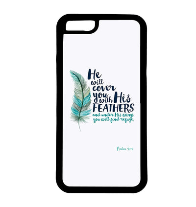 He Will Cover You With His Feathers | Phone Case | TheImprint Singapore