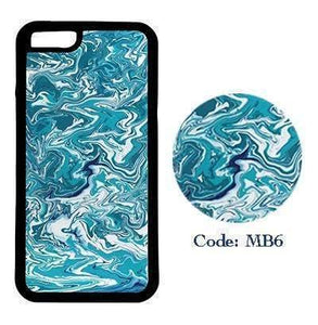 Blue Splatter Marble | Phone Case | TheImprint Singapore