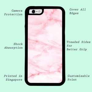 White Smudge | Phone Case | TheImprint Singapore