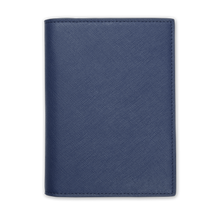 Navy - Saffiano Passport Cover | Personalise | TheImprint Singapore