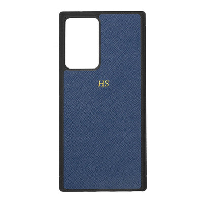 Navy - Samsung Note 20 Ultra Saffiano Phone Case - THEIMPRINT