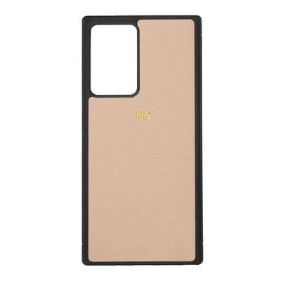 Nude - Samsung Note 20 Ultra Saffiano Phone Case - THEIMPRINT