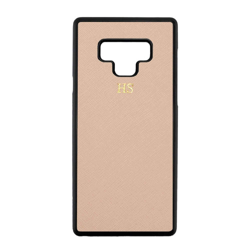 Nude - Samsung Note 9 Saffiano Phone Case | Personalise | TheImprint Singapore