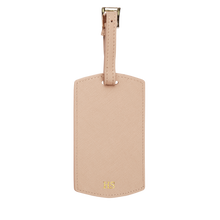 Nude - Saffiano Luggage Tag | Personalise | TheImprint Singapore