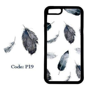 Monochrome Feather | Phone Case | TheImprint Singapore