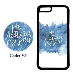 He Restores My Soul | Phone Case | TheImprint Singapore