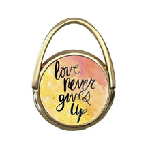 Love Never Gives Up | Mobile Phone Ring | TheImprint Singapore