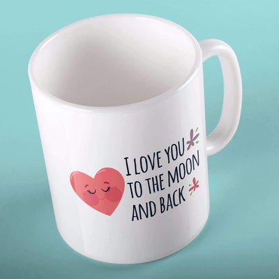 I Love You To The Moon And Back | Mugs | TheImprint Singapore