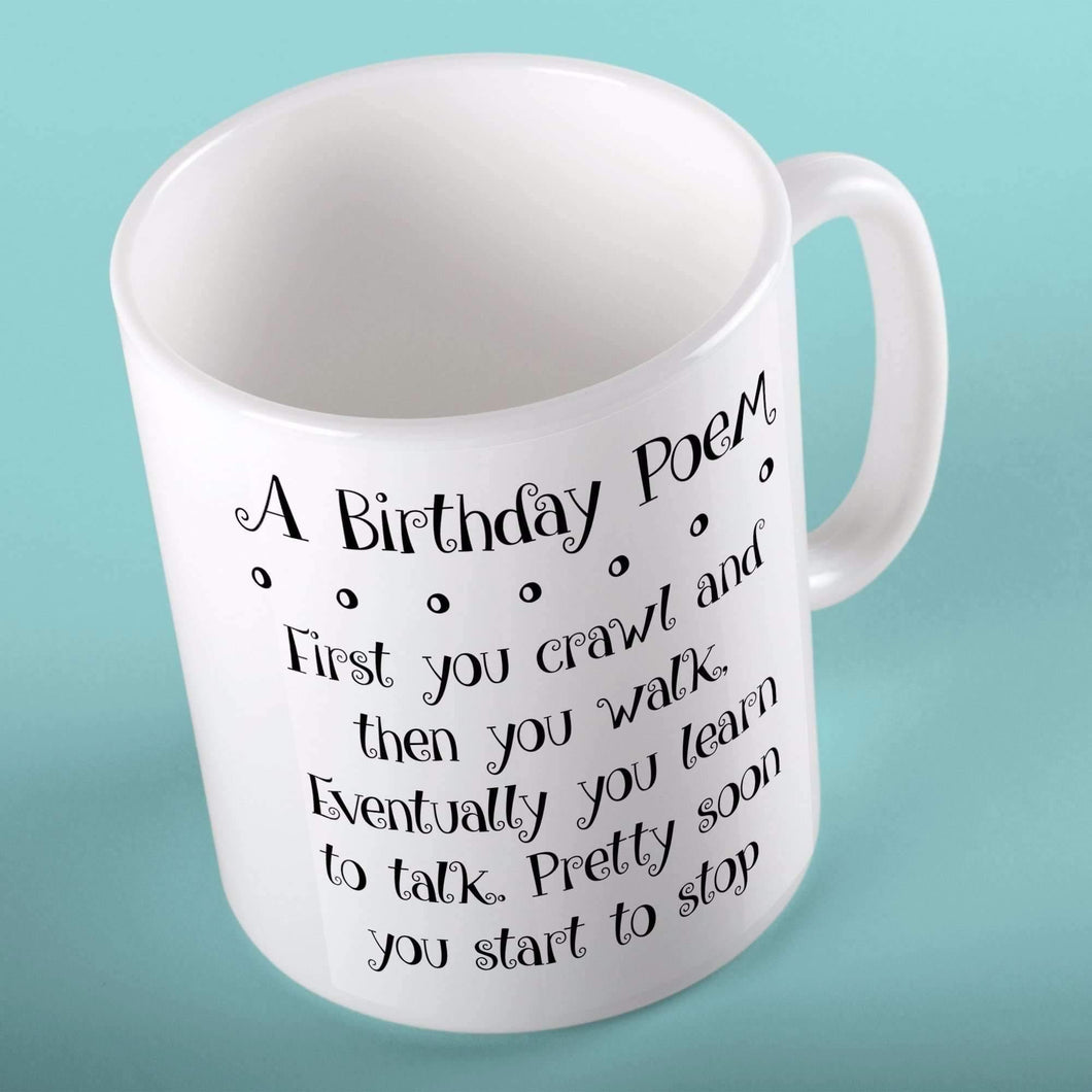 A Birthday Poem | Mugs | TheImprint Singapore