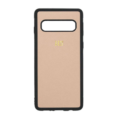 Nude - Samsung S10 Saffiano Phone Case | Personalise | TheImprint Singapore