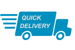 We delivered the quickest. As soon as we receive the product we make sure we get it delivered to our customers