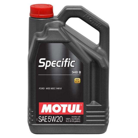Motul ENGINE OIL 948B 5W20 5L - Performance Car Parts