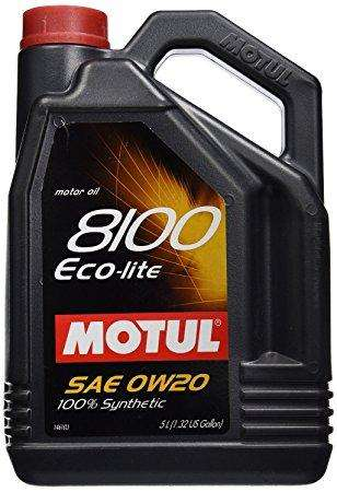 Motul ENGINE OIL 8100 ECO-LITE 0W20 5L - Performance Car Parts