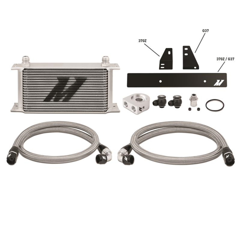 NISSAN 370Z, 2009+ / INFINITI G37, 2008+ (COUPE ONLY) OIL COOLER KIT - Performance Car Parts