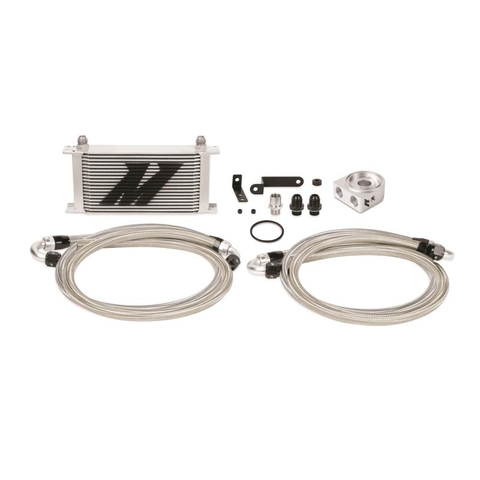 Mishimoto Oil Cooler Kit black  - Subaru STI 2008-2014 - Performance Car Parts