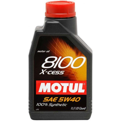 Motul ENGINE OIL 8100 X-CESS 5W40  1L - Performance Car Parts