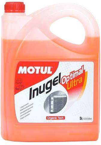 Motul Inugel Optimal Coolant Motul -37°C - 5 Liters - Performance Car Parts