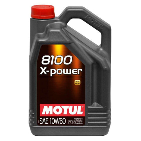 Motul ENGINE OIL X-POWER 10W-60 4L - Performance Car Parts