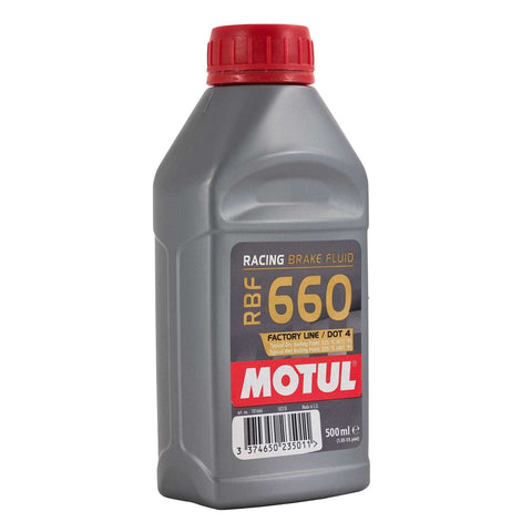 Motul BRAKE FLUID RBF 660 FL 500ML - Performance Car Parts
