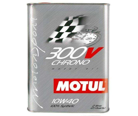 Motul ENGINE OIL 300V CHRONO 10W40 2L - Performance Car Parts