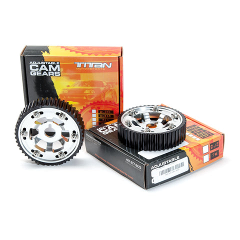 Titan Motorsports SUP-ENG-101P 2JZ / 2JZGTE Cam Gear Clear (each) Polished - Performance Car Parts