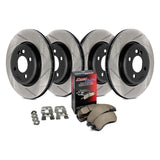 StopTech 934.63014 Street Slotted Front and Rear Brake Kit - Performance Car Parts