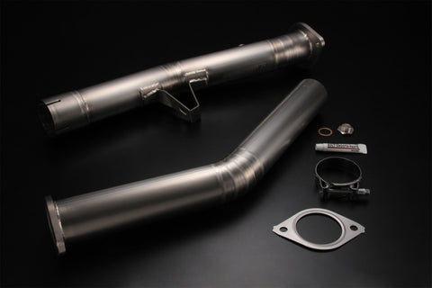 TOMEI 431005 Expreme Ti Titanium test pipe for SUBARU BRZ, TOYOTA 86 (60mm)