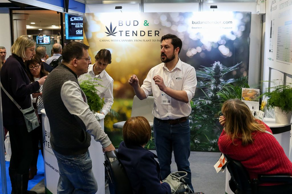 Bud & Tender CBD Oil at the Therapy Show NEC