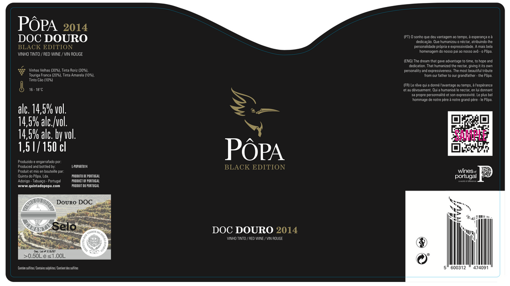 Black Edition Red, Quinta Do Popa