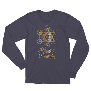 Raising Vibration: Unisex Long Sleeve T-Shirt