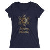 Raising Vibration: Ladies' short sleeve t-shirt