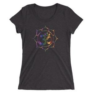 OM Mantra: Ladies' short sleeve t-shirt