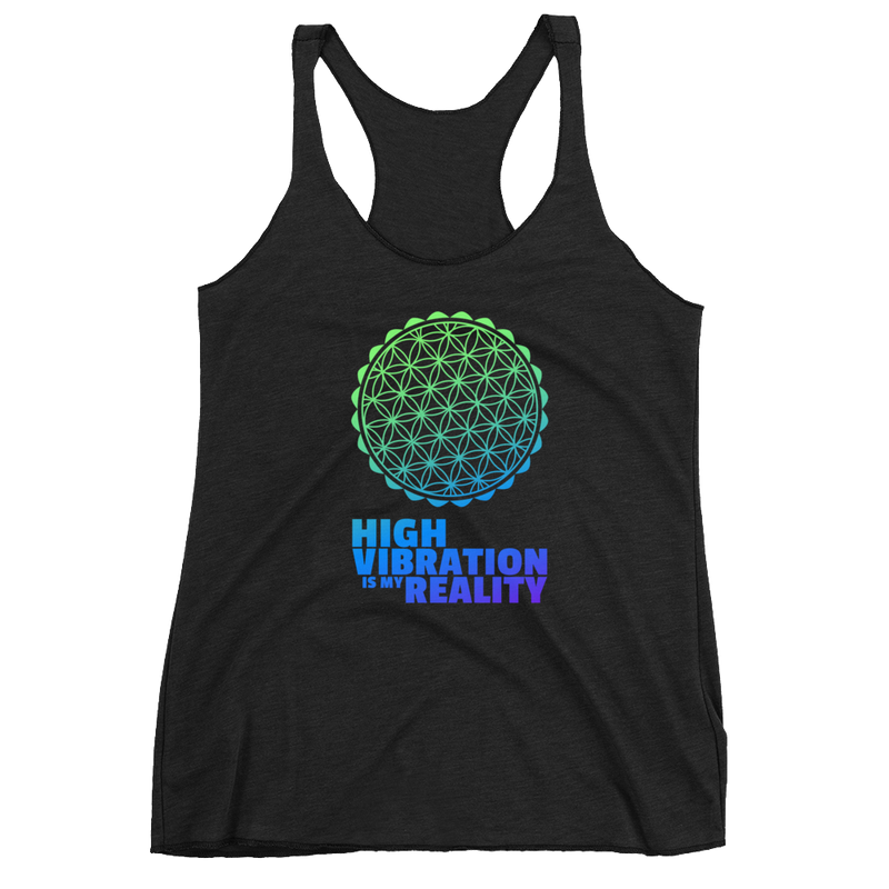 High Vibration Reality: Women's Racerback Tank