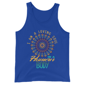 I am a Loving Soul: Unisex Tank Top