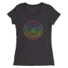 Aligning All Chakras: Ladies' short sleeve t-shirt