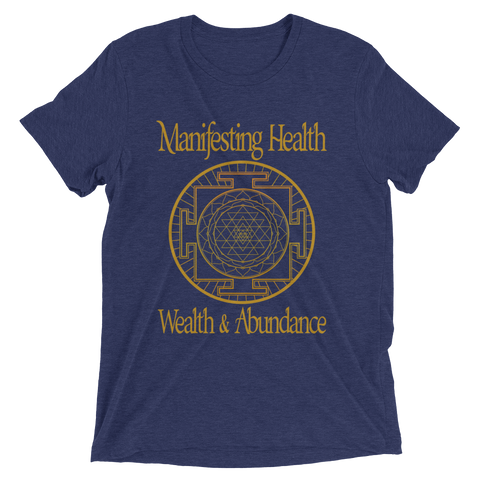 Manifesting Health, Wealth & Abundance: Short sleeve t-shirt