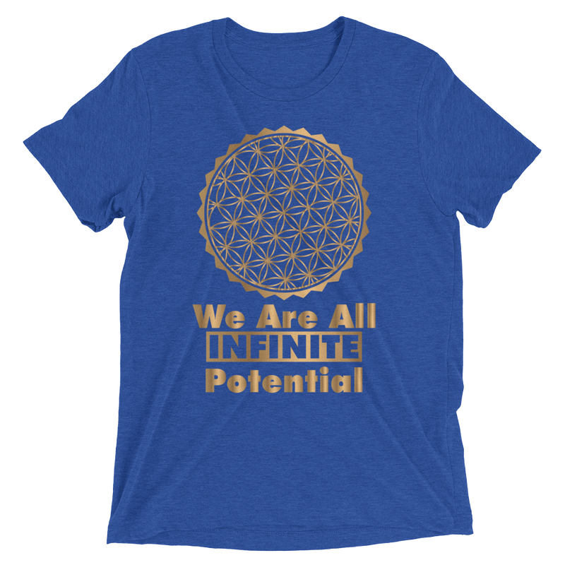 We Are All Infinite Potential: Short sleeve t-shirt