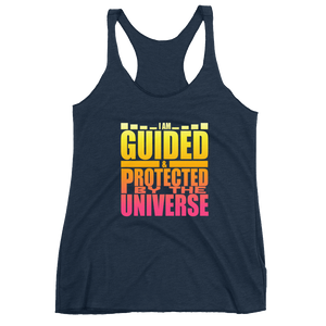 I Am Guided & Protected: Women's Racerback Tank