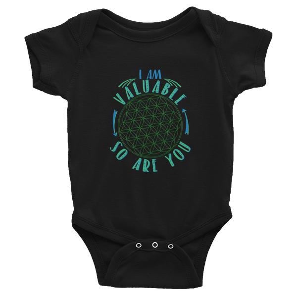 I Am Valuable: Infant Bodysuit