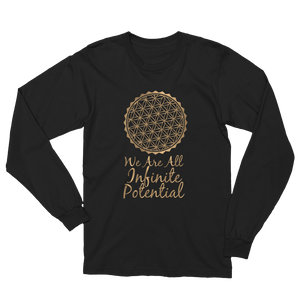Infinite Potential: Unisex Long Sleeve T-Shirt