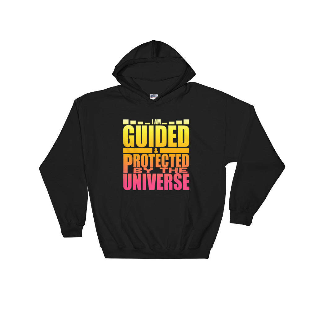 Guided By The Universe  Hooded Sweatshirt