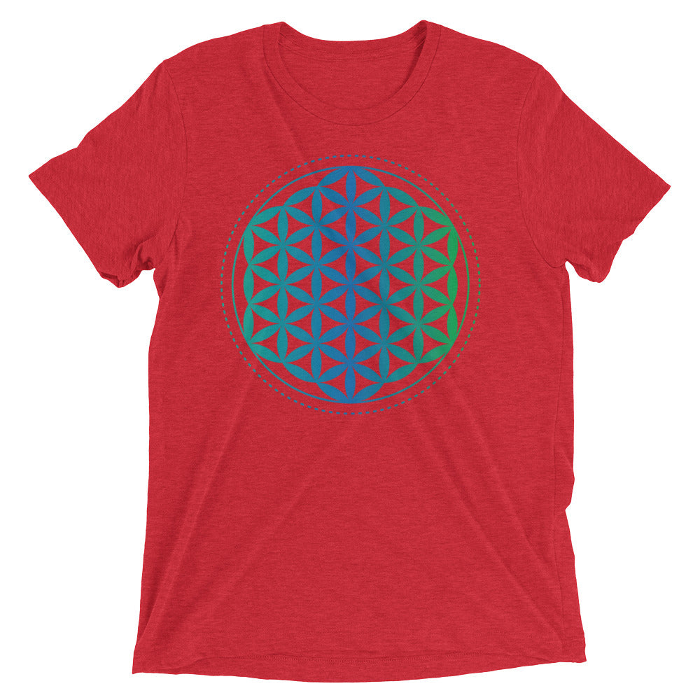 Sacred Geometry Flower Of Life T-Shirt | Intelligence Of The Universe