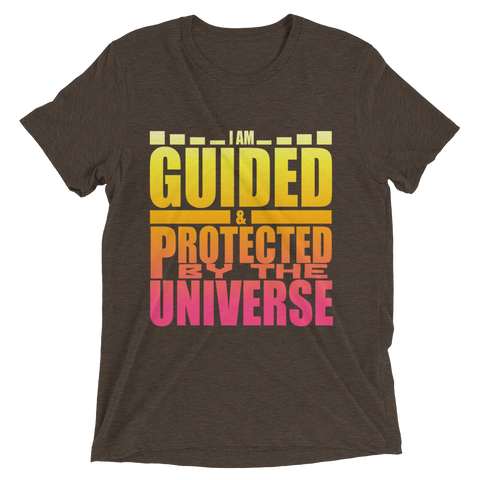 I Am Guided & Protected: Short sleeve t-shirt