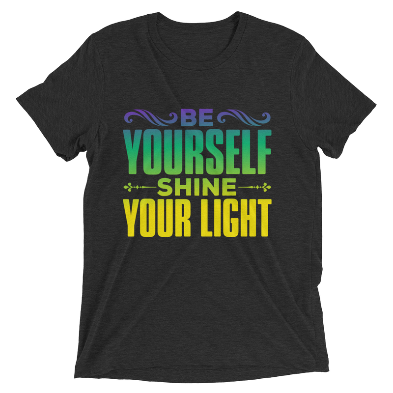Shine Your Light: Short sleeve t-shirt