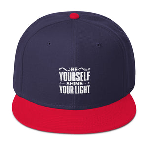 Be yourself shine your light cap