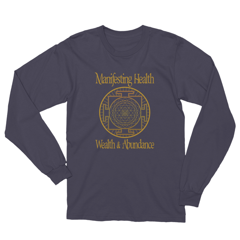 Manifesting: Unisex Long Sleeve T-Shirt