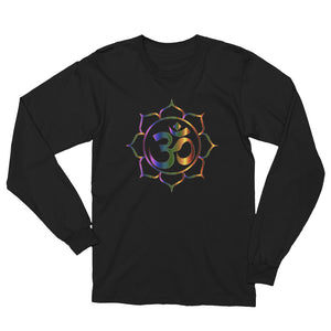 Lotus of The Universe: Unisex Long Sleeve T-Shirt